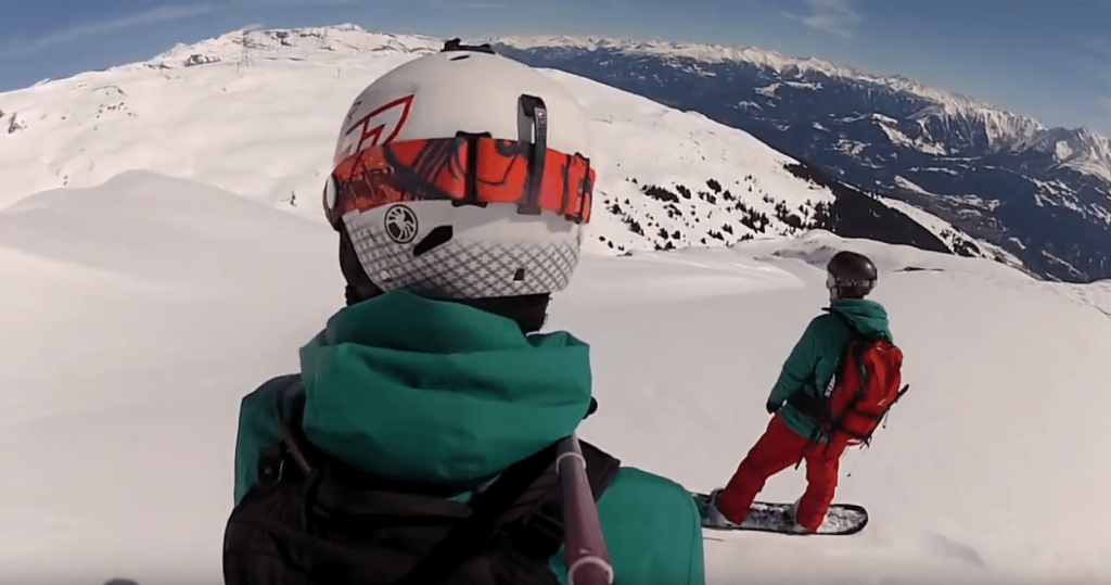 Laax Snowprogres Snowboard Freeride