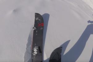 Backcountry Splitboard Snowprogres