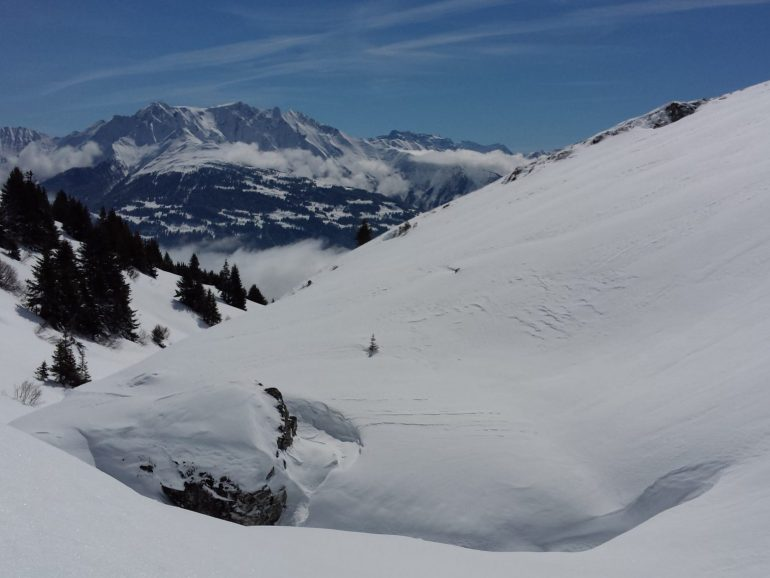 Freeriding Laax. Best Day