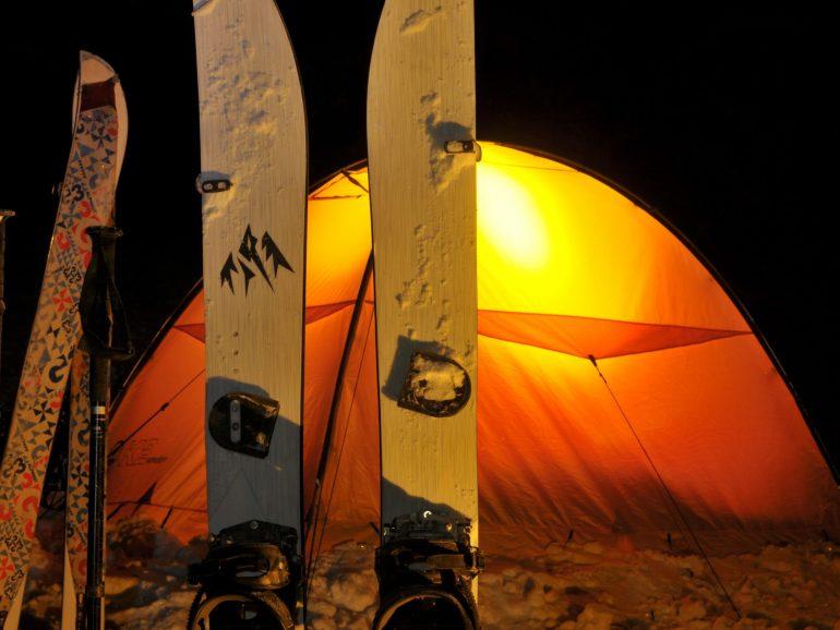 Biwak splitboardowy15-16.02